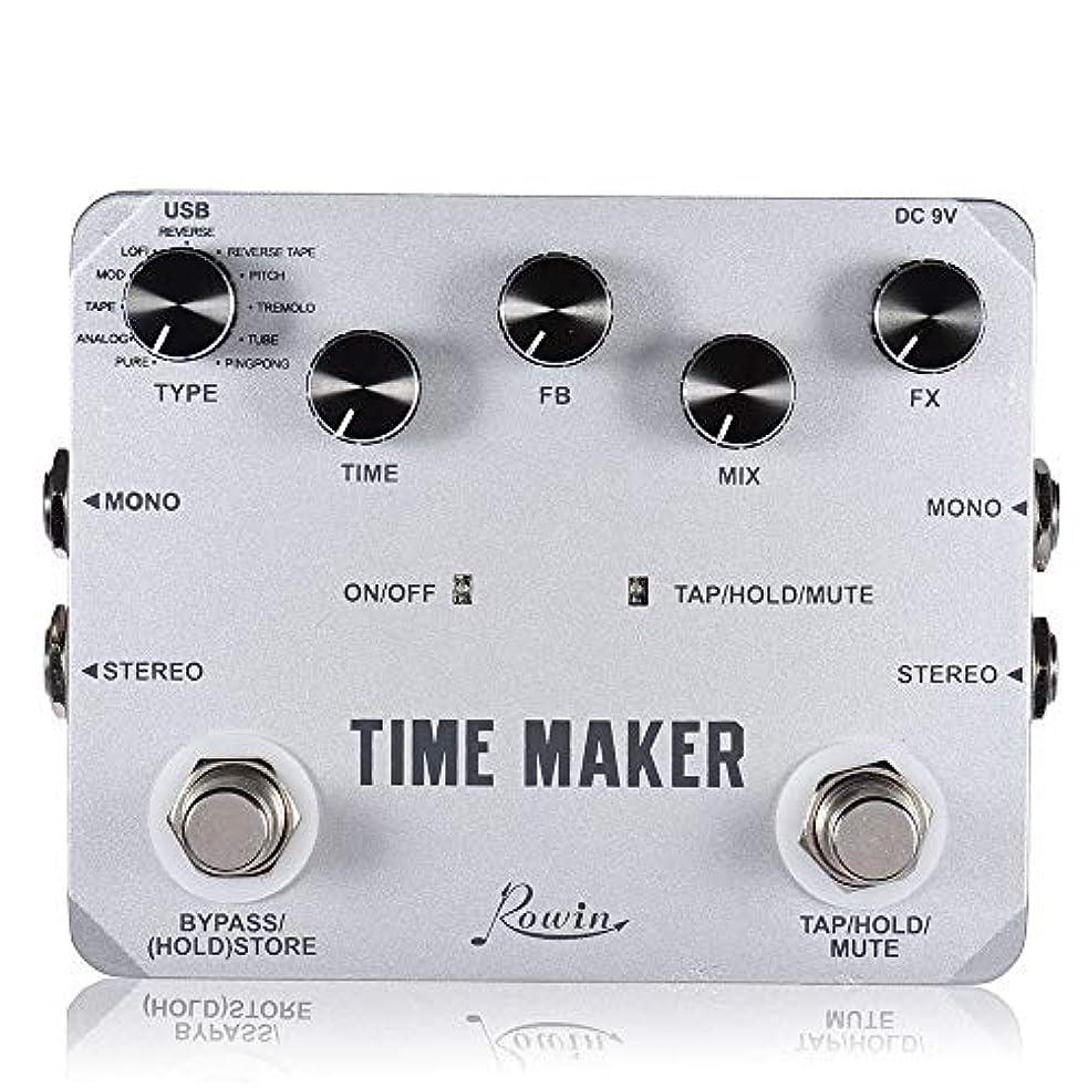 支出バリークロールRowin LTD-02 Time Maker 11ギターベース用アルティメートディレイペダルのタイプ