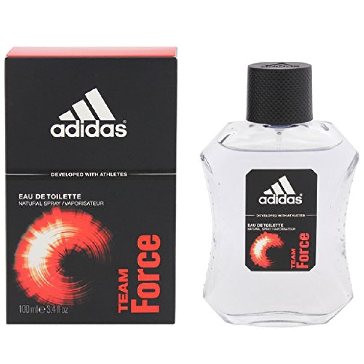 誠意告発者新年アディダス Adidas チームフォース オードトワレ100ml [並行輸入品]