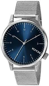 [コモノ] KOMONO 腕時計 [ウィンストン・ロイヤル] WINSTON ROYALE - SILVER / BLUE