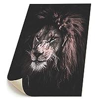 ライオン 獅子 キャンバス 装飾 油絵 塗り絵 ホームデコレーション