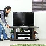 テレビ台 テレビボード シンプル コンパクト ダークブラウン 大型液晶テレビ対応 TCP308DBR