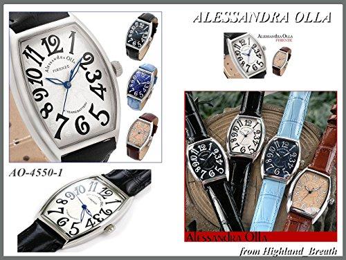 ≪即日発送≫Alessandra Olla・アレサンドラオーラ 男女共用 腕時計 メンズ/レディース AO-4550-1 [並行輸入品]