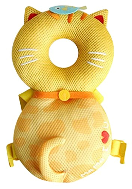Plus Nao(プラスナオ) ベビーヘッドガード リュックタイプ 頭保護 セーフティーグッズ ベビー用品 転倒防止 怪我防止 ケガ 安全 赤ちゃん