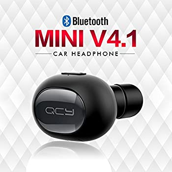 Bluetooth イヤホン ミニ型ヘッドセット 片耳ワイヤレスイヤホン ワンボタン設計 軽量 マイク内蔵 ハンズフリー通話 (ブラック)