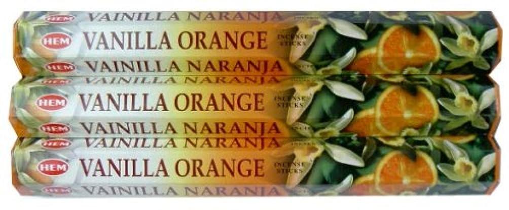 インポート和らげる餌HEM バニラオレンジ 3個セット