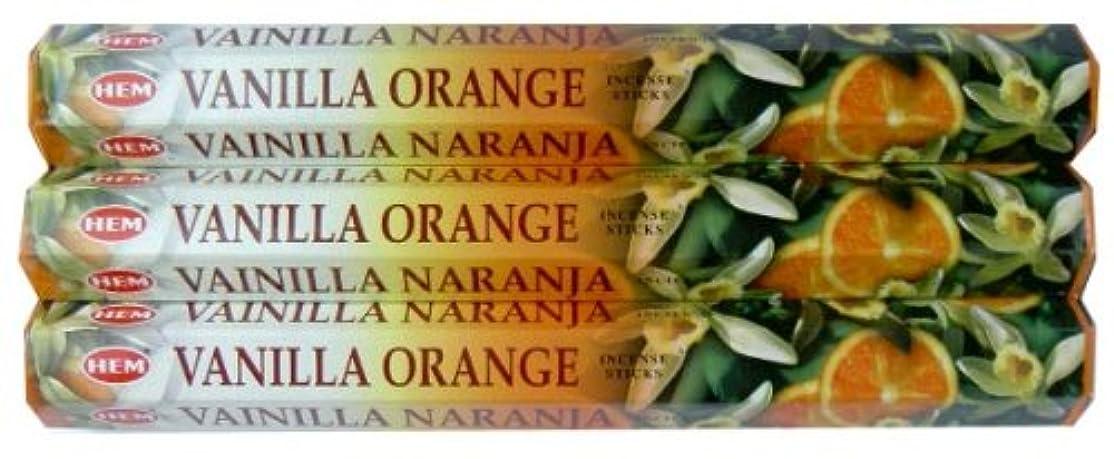 支払う恐れ鉛筆HEM バニラオレンジ 3個セット