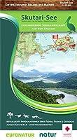 Natur-Landkarte 1 : 55.000  Skutari-See Skadar Lake / Lac de Skadar / Skadarsko jezero: Faszinierende Seenlandschaft auf dem Balkan