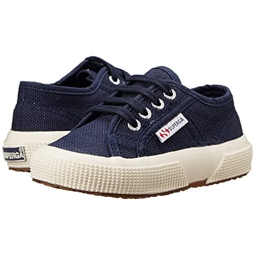 (スペルガ) Superga 靴・シューズ キッズスニーカー Superga Kids 2750 JCOT Classic (Toddler/Little Kid) Navy ネイビー EU 33 (21.5cm) M