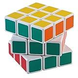 Cozyrom 立体パズル ルービックキューブ3x3x3 回転スムーズ 世界基準配色 試合専用 VER2.0 白い