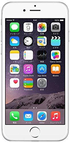 Apple iPhone6 A1586 (MG4H2J/A) 64GB シルバー【国内版 SIMフリー】