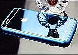 Best iphone 5強化ガラス - Lanjp iPhone 5/5s/SE用強化ガラスフィルム 2点セット(前用+後ろ用) 全面保護フィルム カラーフィルム 鏡面効果 ミラー Review