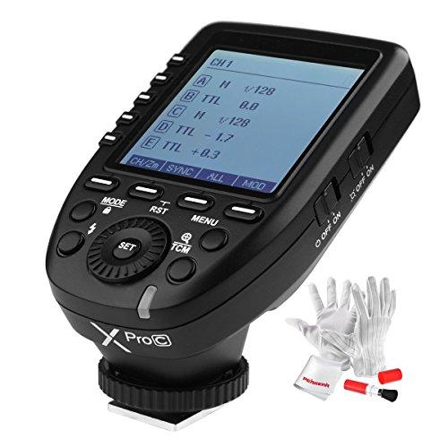 【正規品 技適マーク付き】GODOX Xpro-C送信機 TTL2.4Gワイヤレスフラッシュトリガー 高速同期 1 / 8000s Xシステム Canon一眼レフカメラ対応