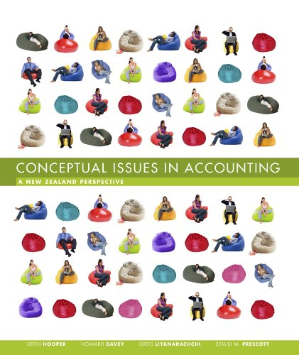 Conceptual Issues in Accounting: A New Zealand Perspective