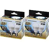 【2個×2個セット】LED電球 E17 全方向タイプ 60W形相当 昼白色相当 LDA7N-G-E17/W-6T52P LDA7N-G-E17/W-6T52P