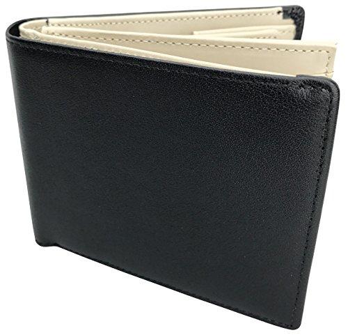 91704c9ad82a [フロックス] 財布 二つ折り 二つ折り財布 本革 革 クリアホルダー付 ボックス型小銭入れ カード 大容量 ブランド 人気 メンズ レディース