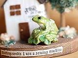 「ツリーフロッグ」 人気の高いカエルのモチーフ セラミックオブジェ 陶器 Palnart Poc/パルナートポック 専用化粧箱入り