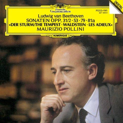 ベートーヴェン:ピアノソナタ第17番「テンペスト」&第21番「ワルトシュタイン」&第25番&第26番「告別」の詳細を見る