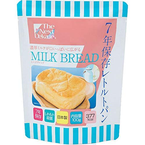 非常食 7年保存レトルトパン ミルクブレッド100g×3袋