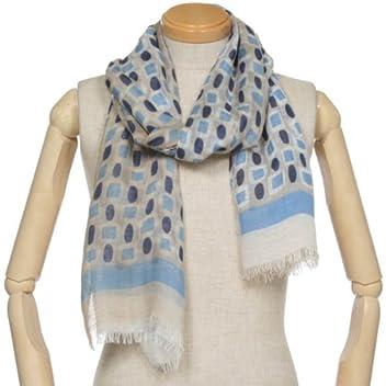 Rayon Linen Silk Scarf 1351427: Blue