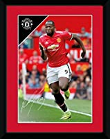 Manchester United F.C. Picture Lukaku 8 x 6 / マンチェスター ユナイテッド F.C. ピクチャー ルカク 8 x 6