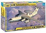 ズベズダ 1/144 ロシア空軍 べリエフ A-50 メインステイ早期警戒管制機 プラモデル ZV7024