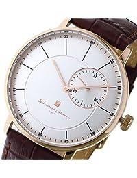 サルバトーレ マーラ SALVATORE MARRA クオーツ メンズ 腕時計 SM17105-PGSV シルバー [逆輸入品]