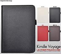 <タブレット・キンドル>使いやすい手帳型! Kindle Voyage( ボヤージュ)用レザースタンドケース