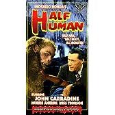 Half Human [VHS] [Import]