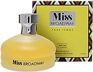 Mirage Diamond Collection Miss Broadway Pour Femme Eau de Parfum, 100ml