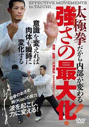 太極拳だから内部が変わる【強さの最大化】~波を起こし、力に変換する! ~ [DVD]