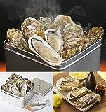浜焼かき10個セット 獲れたての牡蠣を缶で蒸し焼きに!かき小屋の味をご家庭で楽しめます。