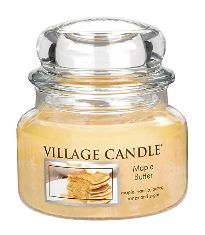 分座る母音Village Candle Maple Butter 11 oz Glass Jar Scented Candle, Small [並行輸入品]