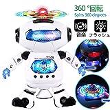 Best 幼児の女の子のおもちゃを販売 - 電子ダンシングロボットの子供 点滅ライト、360 °回転してボディ モータースキル 二足歩行 音楽赤外線 Review