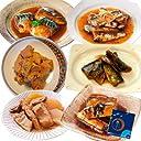レトルト 長期保存 煮物 お魚 6食 小袋鰹ふりかけ1袋 セット