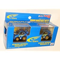 チョロQ 超リアル仕上げ スバルワールドラリーカーセット