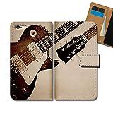 GALAXY S9 SC-02K ケース 手帳型 MUSIC 手帳ケース スマホケース カバー 音楽 音符 楽器 ギター E0351020101701