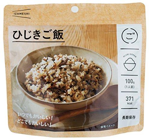 長期保存食 イザメシ IZAMESHI ひじきご飯×48個