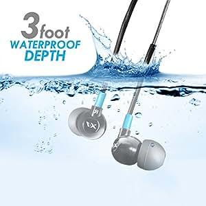 H2O Audio Trax-X1 TR1-BK-X  Custom Fit スポーツ用 防水ヘッドフォン(イヤーフォン)「並行輸入品」