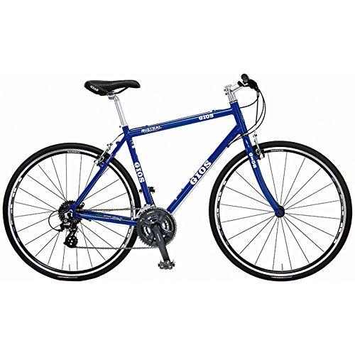 GIOS(ジオス) クロスバイク MISTRAL GIOS-BLUE 430mm