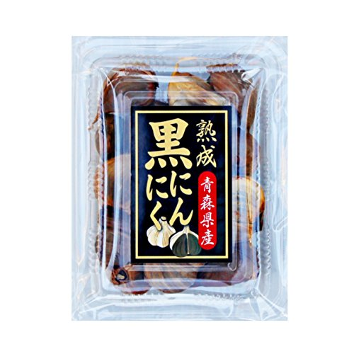 青森産 熟成 発酵 匠の 黒にんにく 80g 青森県産 にんにく 100%使用 した 黒ニンニク 国産