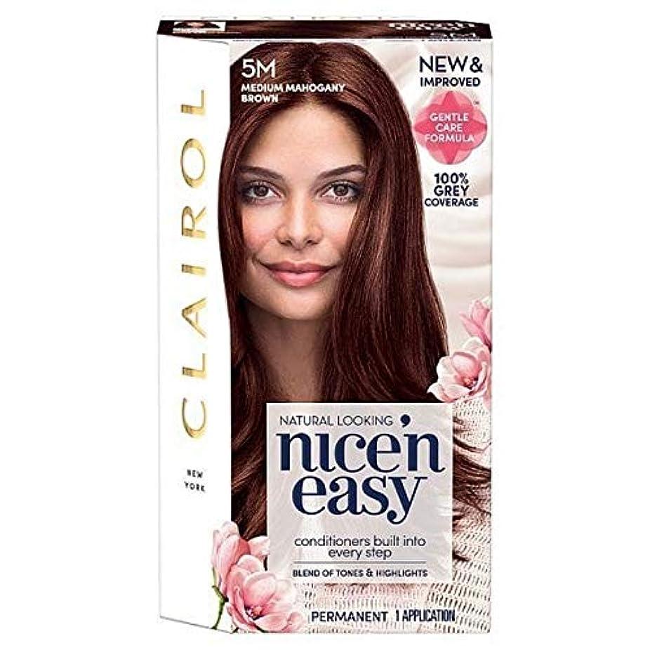 解放する王子法廷[Nice'n Easy] 簡単に5メートルメディアマホガニーブラウンNice'N - Nice'n Easy 5M Medium Mahogany Brown [並行輸入品]