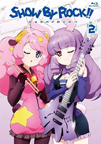 SHOW BY ROCK!! 2(イベントチケット優先販売申込券付き)(新規書き下ろしキャラクターソングCD(2曲)付き)(アプリゲーム「SHOW BY ROCK!!」アニメオリジナルURブロマイドDLコード付き) [Blu-ray]