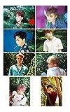 EXO グッズ A3ポスター 8枚セット THE WAR ver ( 韓メディアSHOP購入特典付 )