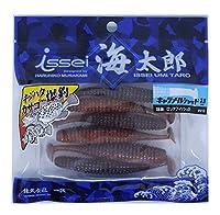 ISSEI(イッセイ) ワーム ルアー 海太郎 キャラメルシャッド 3.5 #018 ロックフィッシュSP