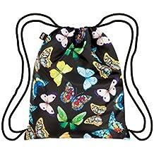 LOQI LQB3-WIBU Wild Collection Butterflies Backpack, Butterflies, L Capacity