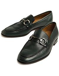 [カルセ] メンズ 靴 レザー ビットローファー スリッポン 94691
