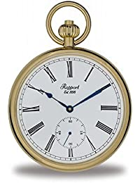 [ラポート]RAPPORT 懐中時計 機械式手巻き オープンフェイス スモールセコンド PW94 【正規輸入品】