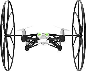 【国内正規品】Parrot Minidrones Rolling Spider ホワイト・ドローン規制対象外200g 未満・パリデザイン・自動安定ホバーリングクアッドコプター ・30万画素カメラ・簡単にアクロバット・スマホ・タブレットで操作 PF723031T