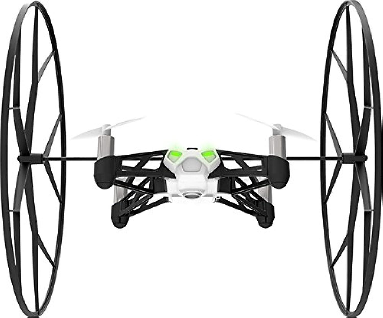 【国内正規品】Parrot ドローン Minidrones Rolling Spider ドローン規制対象外200g未満 自動安定ホバーリングクアッドコプター 30万画素カメラ ホワイト PF723031T