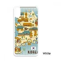 韓国で人気の目印 iphoneケースホワイトx phonecaseアップルカバーケースの贈り物のために